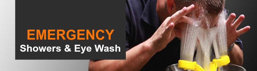 Australia's Leading Supplier of Emergency Showers & Eye Wash Stations