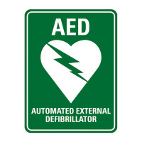 AED (with symbol)