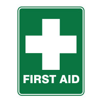 First Aid (with symbol)