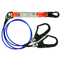 Double Leg Wire Rope Lanyards
