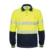 DNC Hi Vis Reflective Taped Polo Shirts