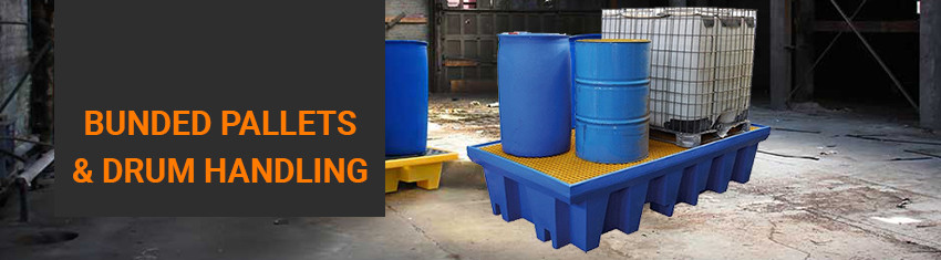 Industry leading bunded pallets & drum handling delivered throughout Australia