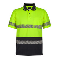 JB's Hi Vis Reflective Taped Polo Shirts