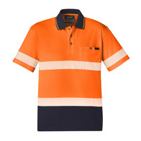 Syzmik Hi Vis Reflective Taped Polo Shirts